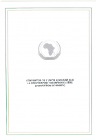 THE AFRICAN UNION CONVENTION ON CROSS-BORDER COOPERATION (NIAMEY CONVENTION) 7803-TREATY-0044: FRENCH