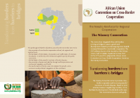 BROCHURE- AFRICAN UNION CONVENTION ON CROSS-BORDER COOPERATION (NIAMEY CONVENTION)
