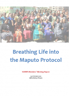 BREATHING LIFE INTO THE MAPUTO PROTOCOL – SOAWR MEMBERS MEETING REPORT 2015