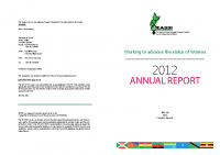EASSI ANNUAL REPORT 2012