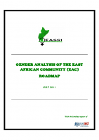GENDER ANALYSIS OF THE EAC ROAD MAP July 2011 EASSI study