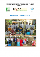 IMPACT AND LESSONS LEARNED WOGE PROJECT