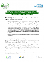 KAMPALA DECLARATION ON WOMEN AND THE SUSTAINABLE DEVELOPMENT GOALS IN EAST AND HORN OF AFRICA , OCTOBER 2016