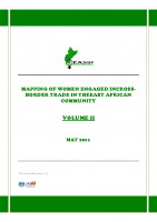 MAPPING OF WOMEN ENGAGED IN CROSS BORDER TRADERS IN THE EAC – VOL II