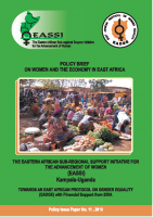 POLICY BRIEF ON WOMEN AND THE ECONOMY IN EAST AFRICA-2010