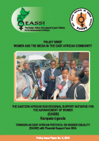 POLICY BRIEF ON WOMEN AND THE MEDIA IN THE EAST AFRICAN COMMUNITY