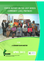 STATUS REPORT ON THE EAC PARTNERS FOR A GENDER BAROMETER APRIL 2013