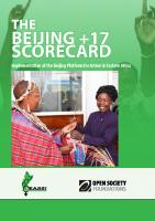 THE BEIJING PLUS17 SCORE CARD