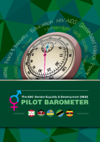 THE EAC GENDER EQUALITY AND DEVELOPMENT (GED) PILOT BAROMETER
