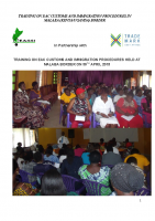 TRAINING MALABA WOMEN CROSS BORDER TRADERS ON CUSTOMS AND IMMIGRATION PROCEDURES IN EAST AFRICA 2015