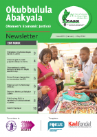 WOMEN'S ECONOMIC JUSTICE (WEJ) NEWSLETTER JAN-MAY 2016 (LUGANDA) Okubbulula Abakyala