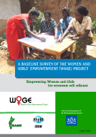 WOGE PROJECT BASELINE SURVEY OF WOGE EMPOWERING WOMEN AND GIRLS FOR ECONOMIC SELF RELIANCE AUG 2012