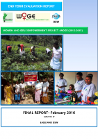 WOMEN AND GIRLS EMPOWERMENT PROJECT –WOGE (2012-2015) END TERM EVALUATION REPORT